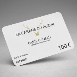 Gift card - 100 €